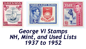 king george vi stamps for sale